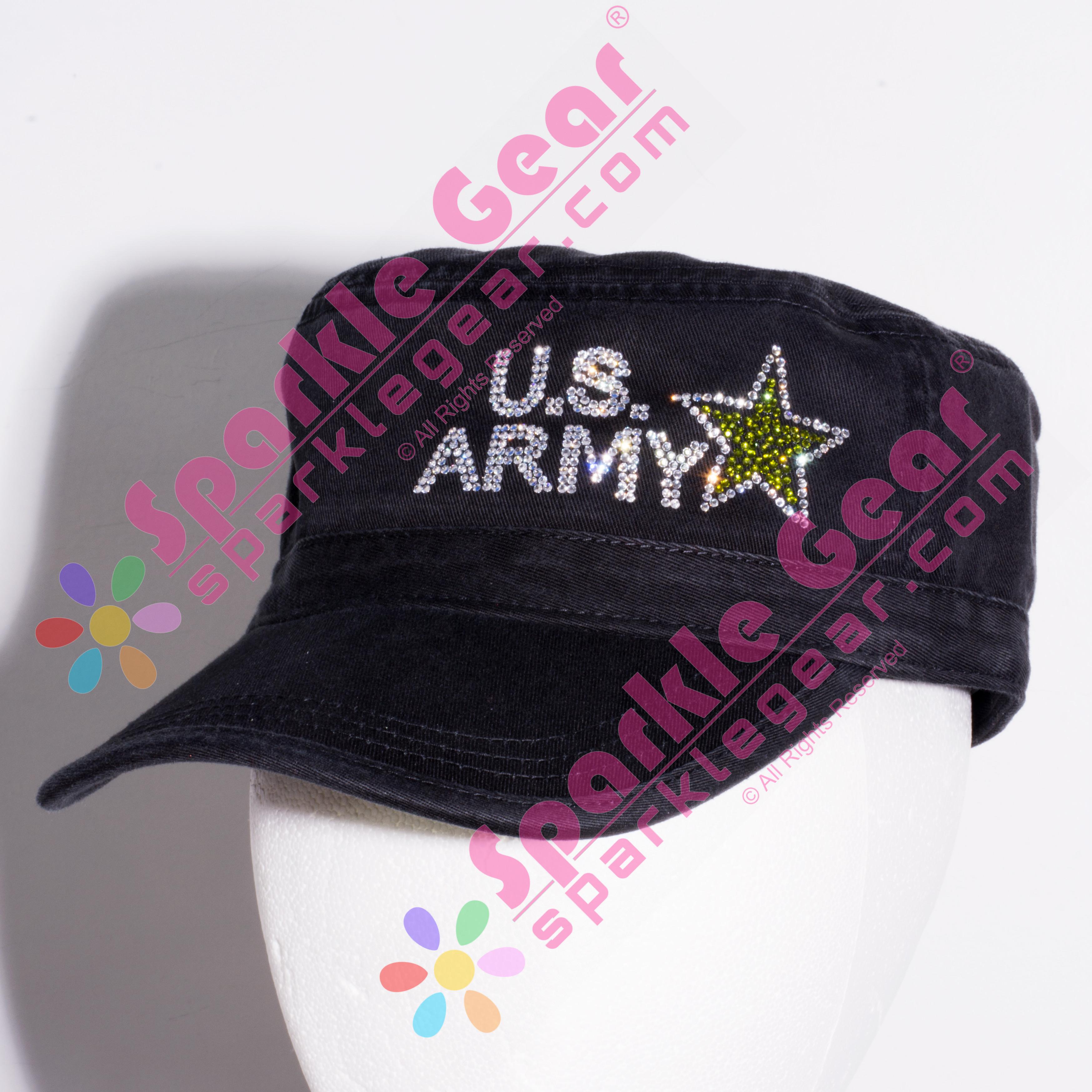 Army Mom Cadet Hat - Sparkle Gear