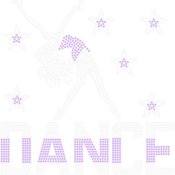 Modern Dancer with Stars