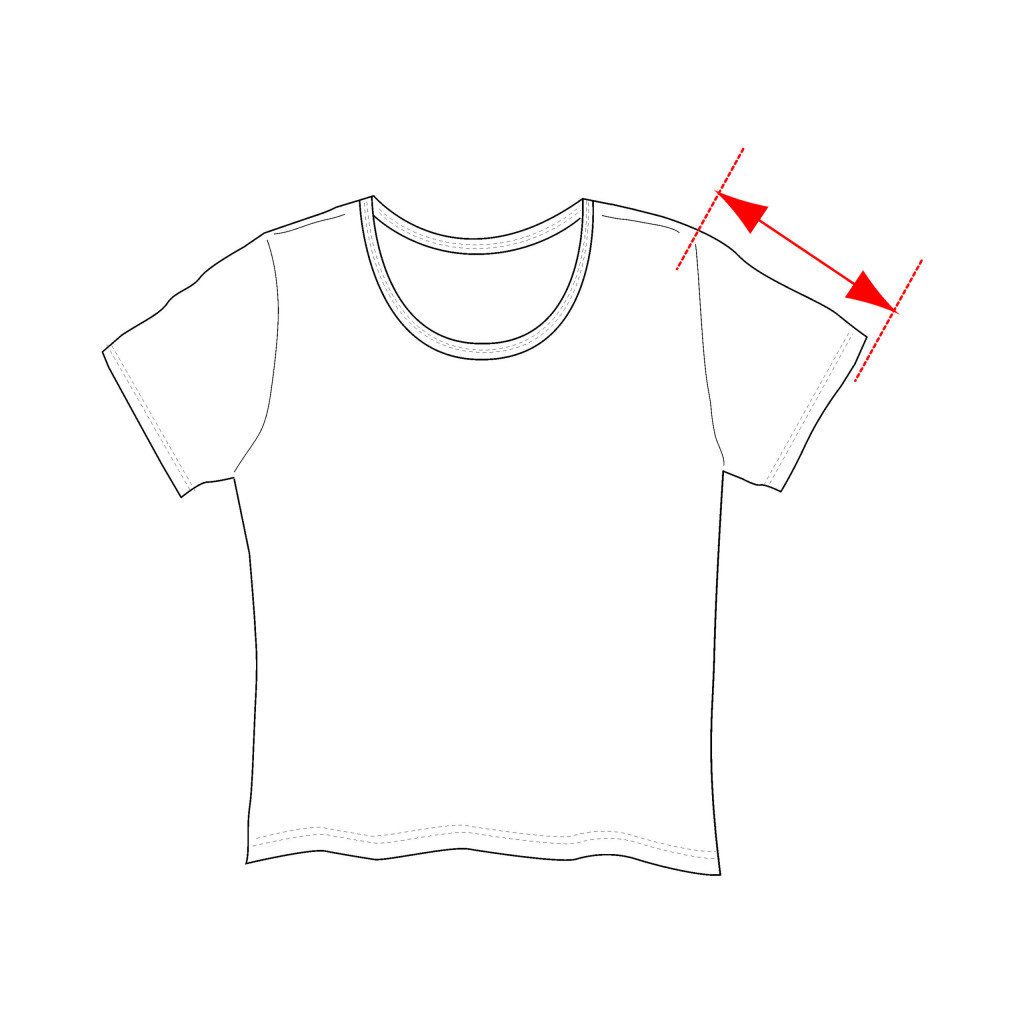 Sleeve length shirt measurement